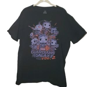 Marvel Guardians of Galaxy Funko Pop Graphic Tee